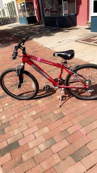 Red and black Schwinn mountain bike Washington, 20016
