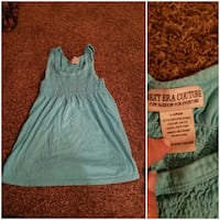 women's blue Next Era Couture sleevless dress