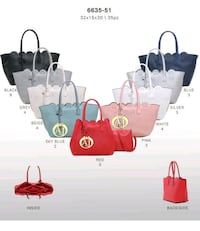 Lotto di Tote bag Armani Jeans a colori assortiti