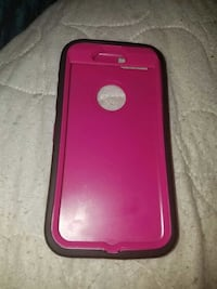 Pink and black iPhone 6 case 1051 mi