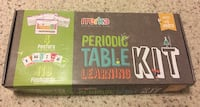 Periodic table learning kit Urbandale, 50322