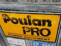 Poulan Pro Equipment Sign Charles Town, 25414