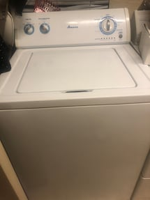 FREE great working older model washer and dryer.