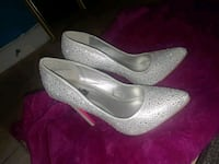 pair of gray leather flats Rockville, 20852