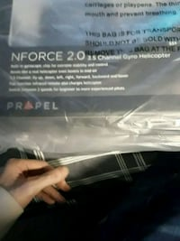 New blue nforce 2.0 3.5 channel gyro helicopter