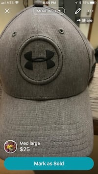 Gray and black under armour