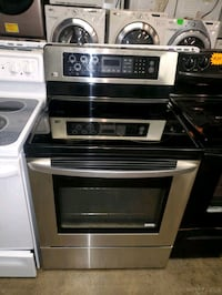 LG convection oven electric stove stainless Steel working perfectly  Baltimore, 21223