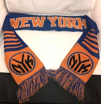 "Nba York Knicks Split Logo Reversible Scarf 64"" Fort Washington, 20744"