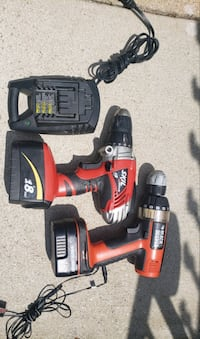 Skil and Black N Decker drill both for $45