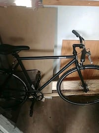 black and gray road bike 3482 km