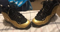 Gold foams size 6.5 GS Washington, 20011