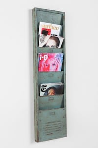 Industrial-Style Magazine Rack  Washington