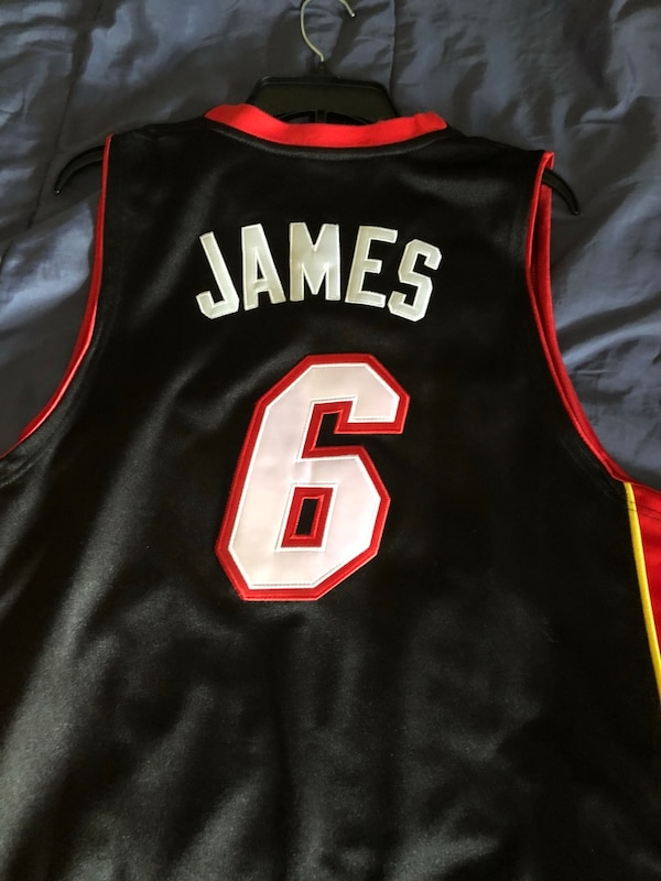 new concept 92465 b1118 Lebron James Miami Heat Jersey