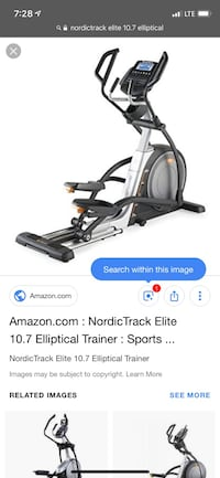 black and gray elliptical trainer screenshot Fargo, 58104