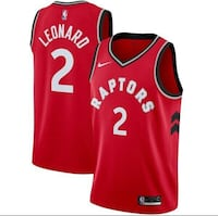 Nike swingman jersey Leonard authentic Men's small $240 Caledon, L7C 3Y6