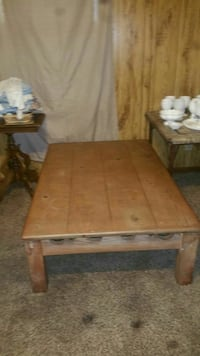 brown wooden table with bench Wichita, 67217