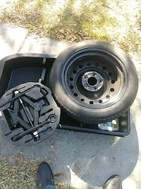 2015 kia soul spare tire kit...allparts included..