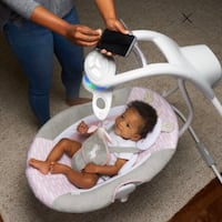 Bluetooth Cradle BabySwing with LED LIGHTS North Las Vegas, 89030