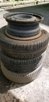 4 wheels with tires 185/65/14 Laval