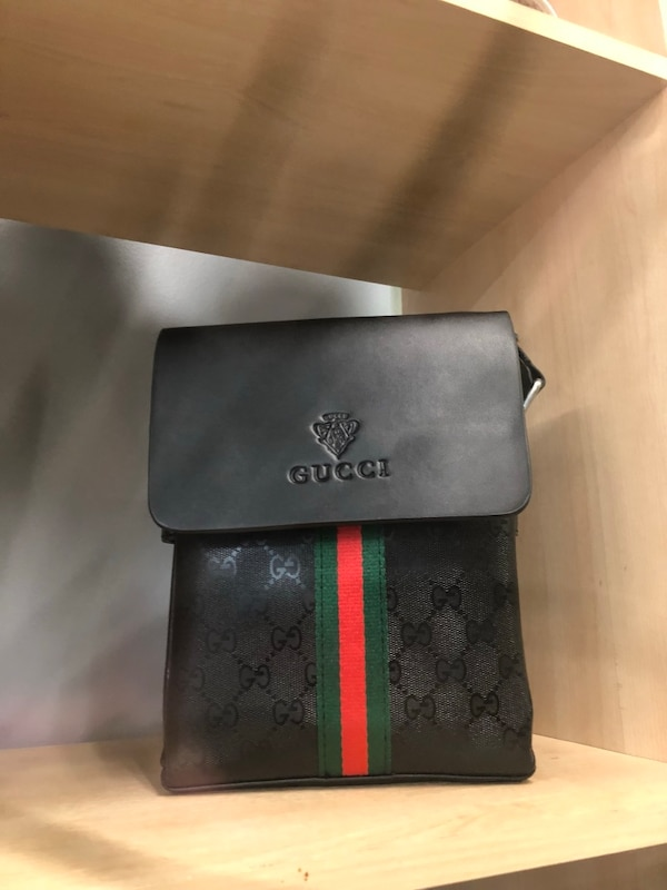 2dd25b764b Used black and gray Gucci leather wallet for sale in Toronto - letgo