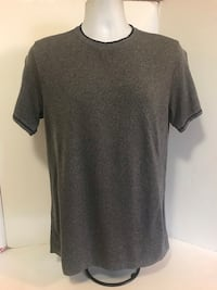 Lululemon Men's Short Sleeve Metal Vent Tech Shirt Size M Gray w/Black  trim Long Beach, 90804