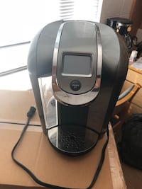 Black and gray keurig coffeemaker Washington, 20007