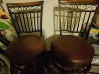 two brown wooden windsor chairs Sun Lakes, 85248