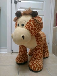 Toy. Giraffe ride one