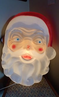 Empire Santa head blow mold