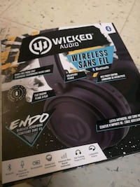 Wicked Audio Wireless Headphones