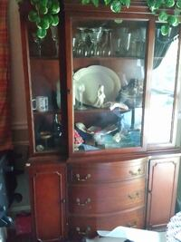 Antique combo china cabinets FREDERICK