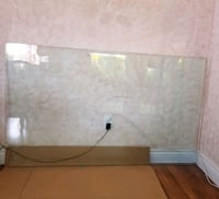 "Table glass  60""×36"" Vaughan, L4K 1M7"
