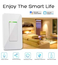 Lyhope Smart Light Switch, Timer Voice/Touch/APP Control Smart Wifi