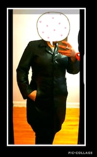 Leather coat large women  Montreal, H4E 2Z8
