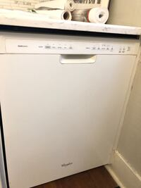 Used white dishwasher works fine stainless interior very clean Plaistow, 03865