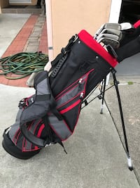 TOP-FLITE Clubs and Bag (new)