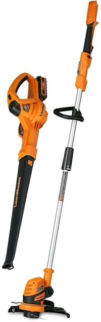 LawnMaster 24V Max Lithium Ion Grass Trimmer and Blower Combo Kit (NEW