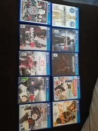 Ps4 games for sale (various prices)