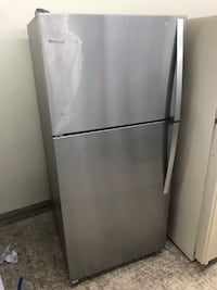 30x67 New Scratch & Dent Whirlpool stainless steel refrigerator in excellent condition 100 days warranty  Baltimore, 21222