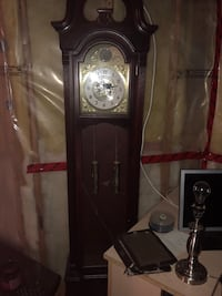brown wooden grandfather's clock Barrie