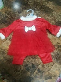 *NEW* Baby Girl's 3m Christmas 2pc Outfit Cambridge, N1R 4S4