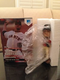 SAN FRANCISCO GIANTS 2013 RYAN VOGELSONG SGA BOBBLEHEAD
