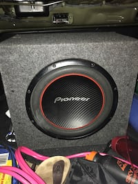 Black and gray pioneer subwoofer Winnipeg, R3X 1Y7