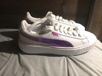 Women's puma basket hologram shoes Escondido, 92025