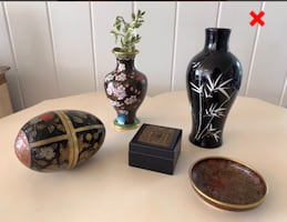 CLOISONNE COLLECTION & MORE