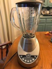 stainless steel and black Oster blender Arlington, 22207
