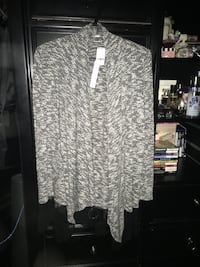 Women's sweater tunic wrap brand new with tags size medium  Calgary, T2A 7R1