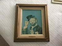 Two Collector Items - Red Skelton Freddy the Freeloader Signed and Numbered Framed Picture $200 and Freddy's Shack Framed Picture Signed and Numbered $150. Ocala, 34476