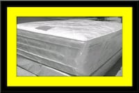 "Full 16"" double pillow top mattress with boxspring Upper Marlboro, 20772"