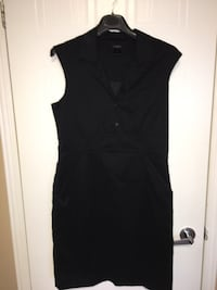 Ann Taylor Black v-neck sleeveless dress  Montréal, H9H 5C3